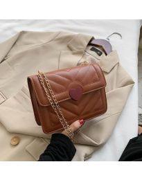 Τσάντα - κώδ. B83 - καφέ