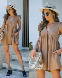 Φόρεμα - κώδ. 7141 - μπεζ