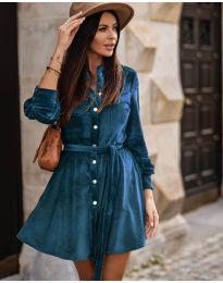 Φόρεμα - κώδ. 3999 - μπλε