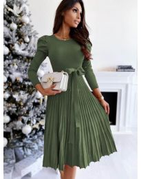 Φόρεμα - κώδ. 3939 - χακί