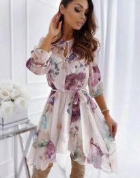 Φόρεμα - κώδ. 2738 - πολύχρωμο