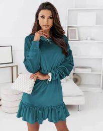 Φόρεμα - κώδ. 0424 - τυρκουάζ