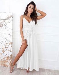 Φόρεμα - κώδ. 2651 - λευκό