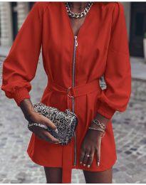 Φόρεμα - κώδ. 820 - κόκκινο