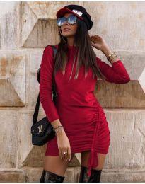 Φόρεμα - κώδ. 9545 - μπορντό