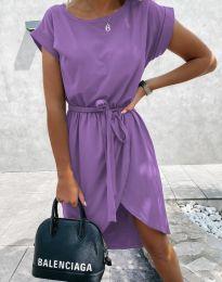 Φόρεμα - κώδ. 2074 - μωβ