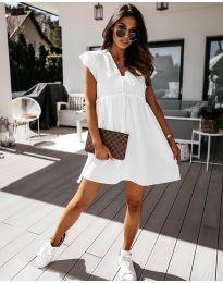 Φόρεμα - κώδ. 2093 - λευκό