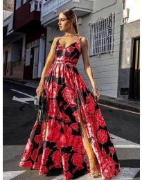 Φόρεμα - κώδ. 5520 - κόκκινο