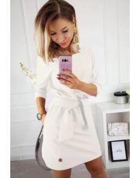 Φόρεμα - κώδ. 594 - λευκό