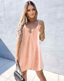Φόρεμα - κώδ. 4189 - ροζ
