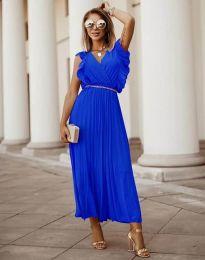 Φόρεμα - κώδ. 3320 - μπλε