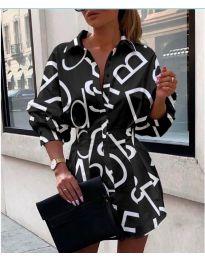 Φόρεμα - κώδ. 749 - μαύρο
