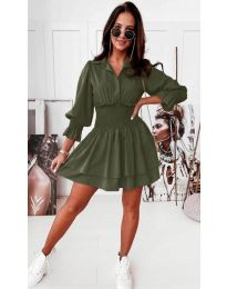 Φόρεμα - κώδ. 1843 - πράσινο