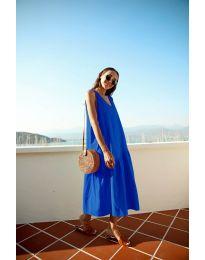 Φόρεμα - κώδ. 8810 - σκούρο μπλε