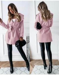Παλτό - κώδ. 643 - ροζ