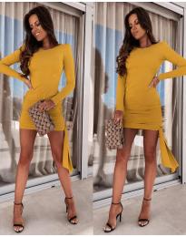 Φόρεμα - κώδ. 6515 - μουσταρδί