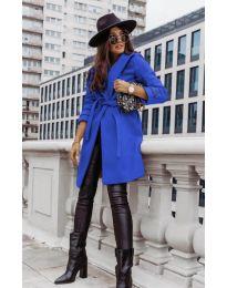 Παλτό - κώδ. 3839 - μπλε