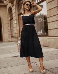 Φόρεμα - κώδ. 1249 - μαύρο