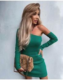Φόρεμα - κώδ. 4933 - πράσινο