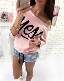 Μπλούζα - κώδ. 0996 - 4 - ροζ