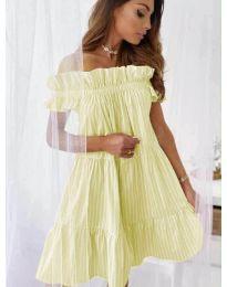 Φόρεμα - κώδ. 0299 - κίτρινο