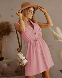 Φόρεμα - κώδ. 2702 - πούδρα