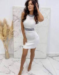 Φόρεμα - κώδ. 2593 - λευκό