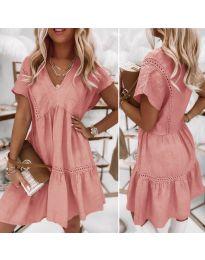 Φόρεμα - κώδ. 8978 - πούδρα
