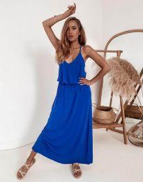 Φόρεμα - κώδ. 11993 - μπλε