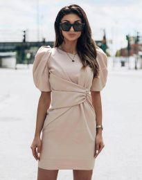 Φόρεμα - κώδ. 9438 - μπεζ