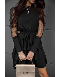 Φόρεμα - κώδ. 8384 - μαύρο
