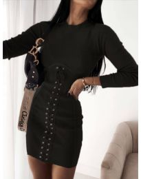 Φόρεμα - κώδ. 4453 - 4 - μαύρο