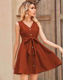 Φόρεμα - κώδ. 8188 - χάλκνο