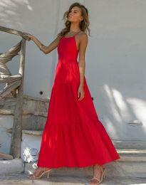 Φόρεμα - κώδ. 2991 - κόκκινο