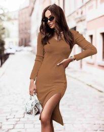 Φόρεμα - κώδ. 6593 - καπουτσίνο