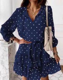 Φόρεμα - κώδ. 7113 - σκούρο μπλε