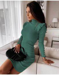 Φόρεμα - κώδ. 8484 - τυρκουάζ