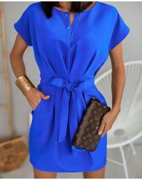 Φόρεμα - κώδ. 772 - μπλε