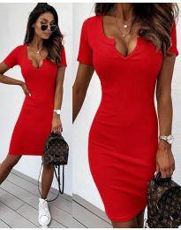 Φόρεμα - κώδ. 8829 - κόκκινο