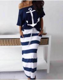 Φόρεμα - κώδ. 2021 - σκούρο μπλε