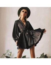 Φόρεμα - κώδ. 2428 - μαύρο