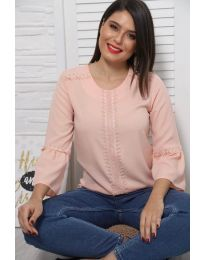Μπλούζα - κώδ. 0629 - 4 - ροζ