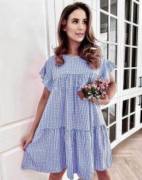 Φόρεμα - κώδ. 6111 - μπλε