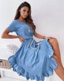 Φόρεμα - κώδ. 11893 - μπλε