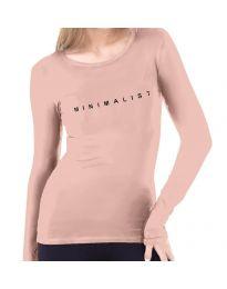 Μπλούζα - κώδ. 3337  - 1 - ροζ