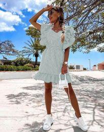 Φόρεμα - κώδ. 2657 - 4 - ανοιχτό πράσινο