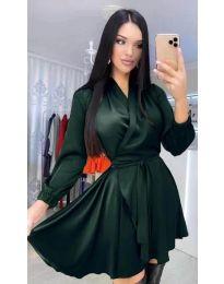 Φόρεμα - κώδ. 5931 - σκούρο πράσινο