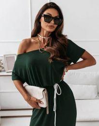 Φόρεμα - κώδ. 11973 - λαδί