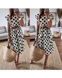 Φόρεμα - κώδ. 1415 - λευκό