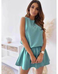 Φόρεμα - κώδ. 477 - τυρκουάζ